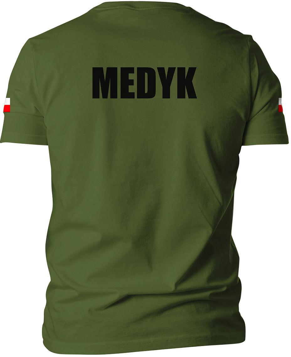 Koszulka T-Shirt TigerWood Medyk - olive