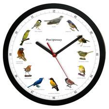 Zegar z głosami ptaków plastik #1
