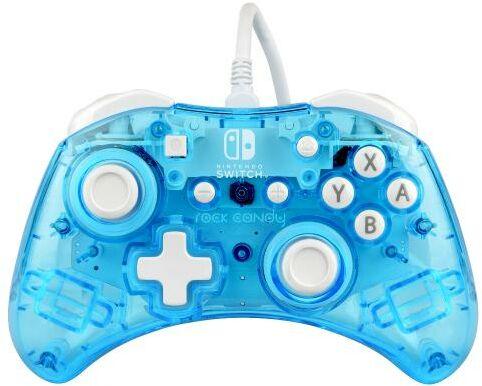 PDP Pad przewodowy Nintendo Switch Rock Candy Mini (niebieski)