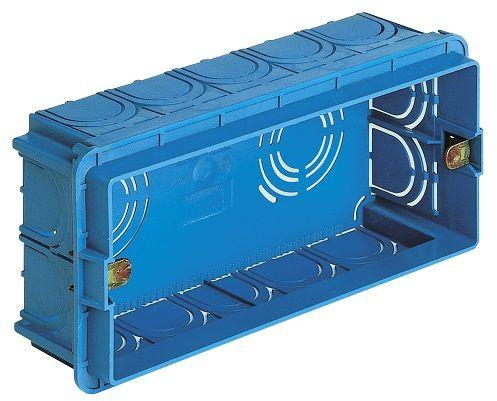 Puszka montażowa 5M niebieska