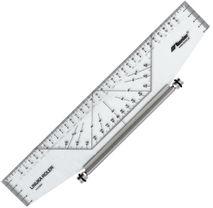 Leniar Linijka Roler Profesjonalny 25cm