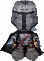 Simba 6315875777 Disney mandalorian/pluszowa figurka/Warrior / 25 cm / nadaje się dla dzieci od pierwszych miesięcy życia