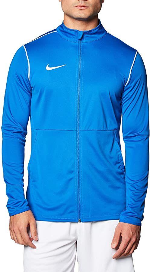 Nike męska kurtka sportowa M NK DRY PARK20 TRK JKT K, królewski niebieski/biały/biały, M