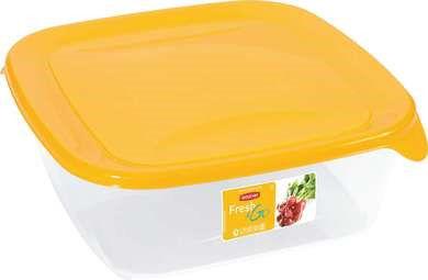 Curver Pojemnik do żywności Fresh & Go 0,8l - żółty