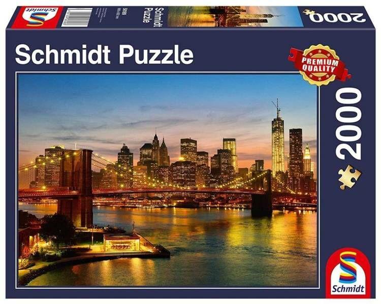 Puzzle PQ 2000 Nowy Jork G3