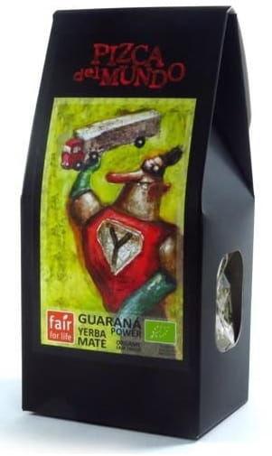 Yerba mate guarana power z guaraną bio 100 g - pizca del mundo