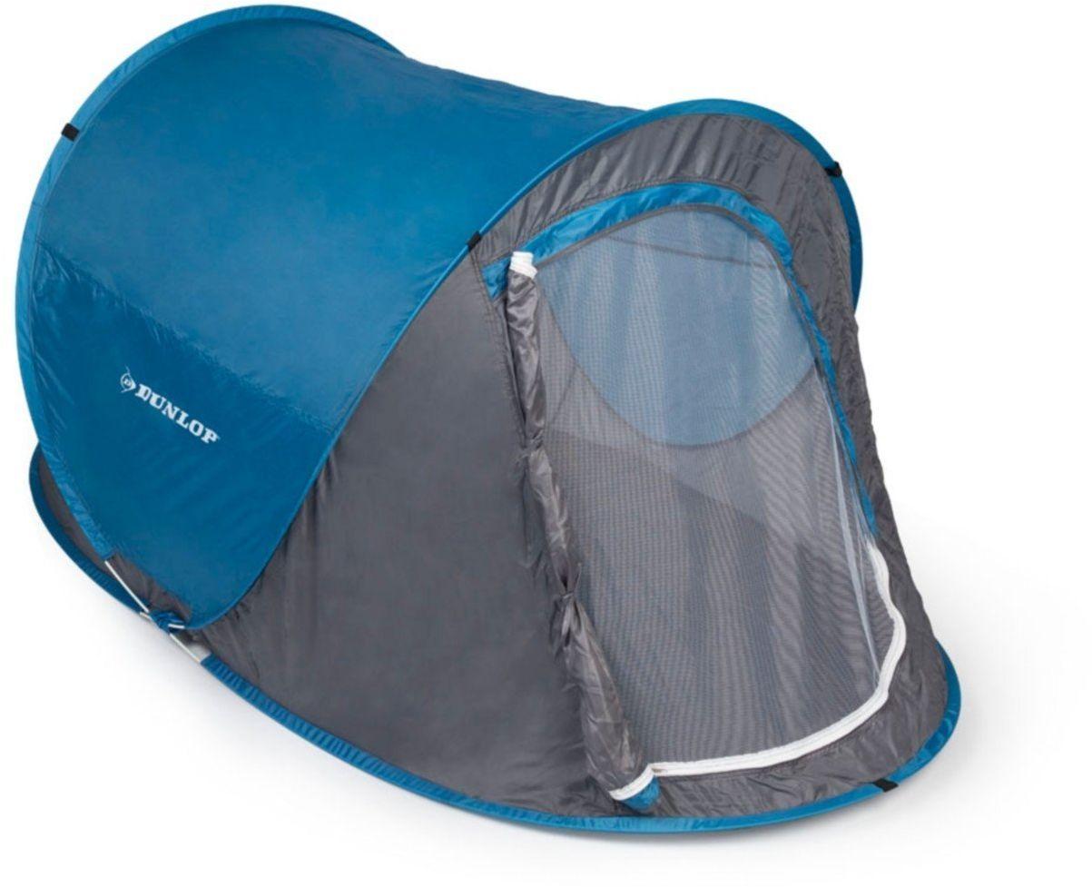 Namiot turystyczny samorozkładający się Dunlop 2osobowy