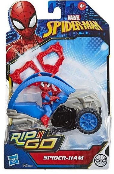 Pojazd Rip N Go Spiderhan