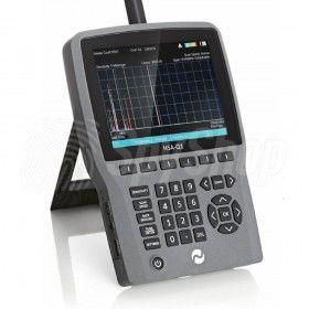 HSA-Q1 wykrywacz telefonów komórkowych, podsłuchów i kamer (pasmo 1 MHz - 13,44 GHz)