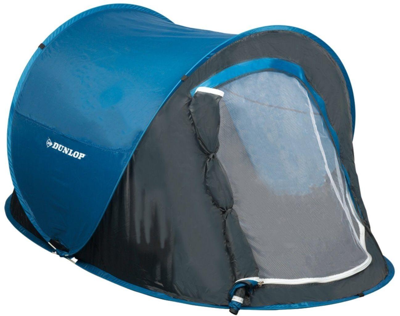 Namiot turystyczny samorozkładający się Dunlop 1osobowy