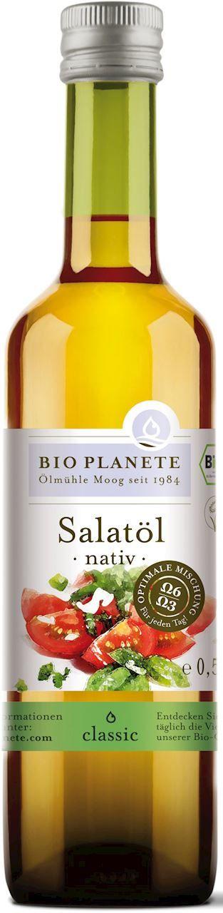 Olej sałatkowy virgin bio 500 ml - bio planete