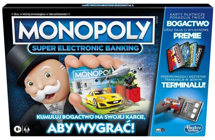Gra Monopoly Super Electronic Banking