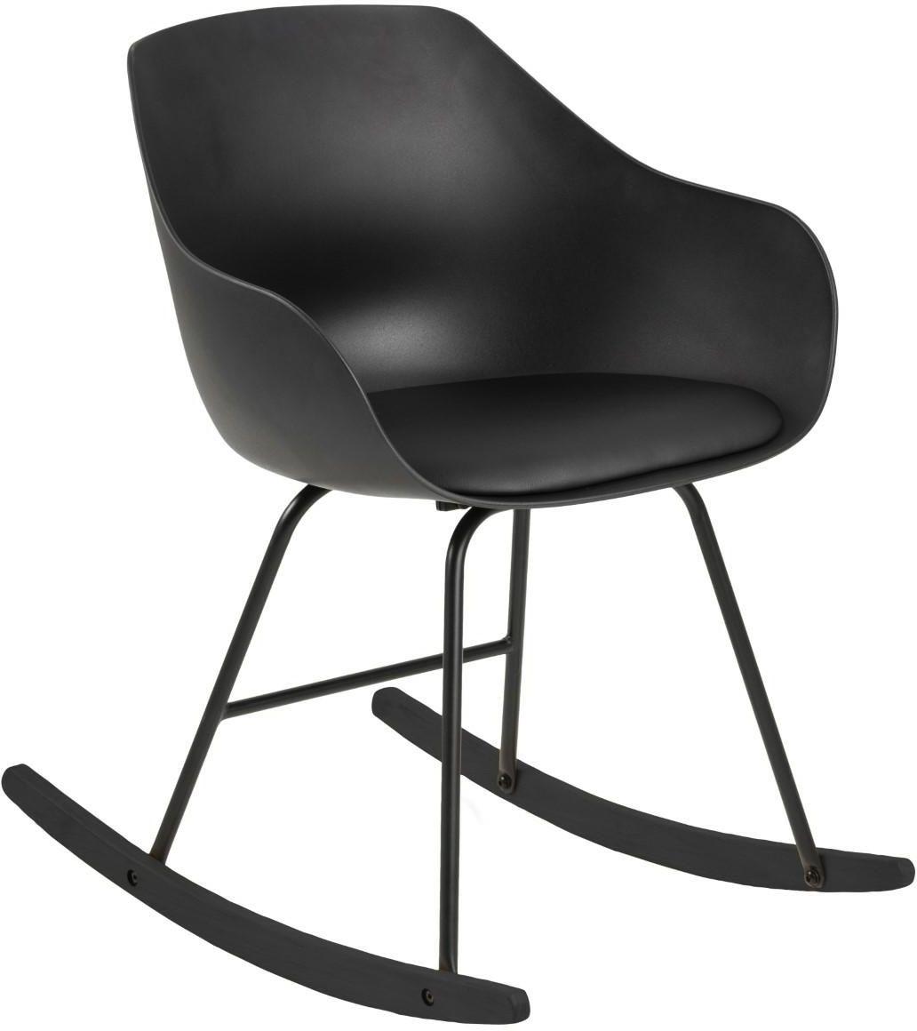 Fotel bujany TINA czarny