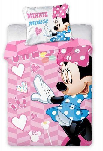 Faro Pościel bawełna 100x135 Myszka Minnie Sweet