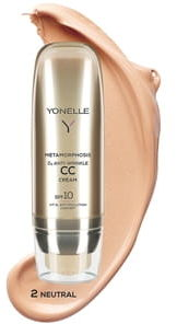 Yonelle Metamorphosis D3 Krem CC SPF10, 2 - Neutral, 50 ml