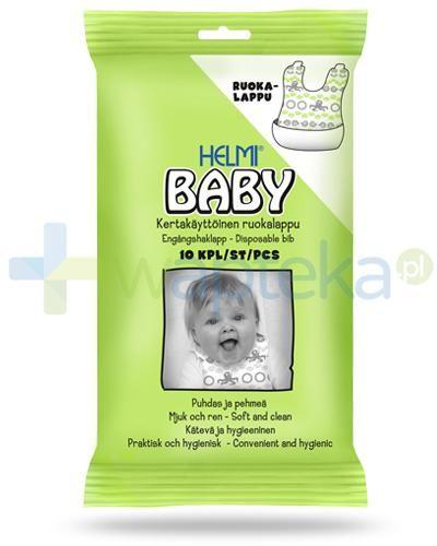 Helmi Baby śliniaczki jednorazowe dla dzieci 10 sztuk