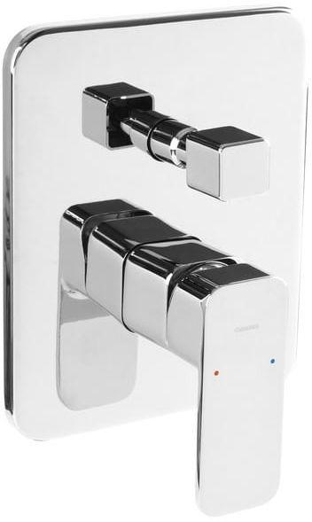 OMNIRES Bateria prysznicowo-wannowa podtynkowa, chrom APURE AP2235CR