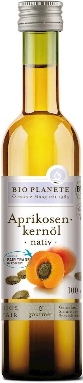 Olej z pestek moreli virgin bio 100 ml - bio planete