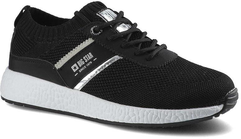 Sneakersy BIG STAR HH274347 Czarny