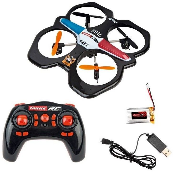 Carrera RC - Quadrocopter Police 2,4GHz 503014