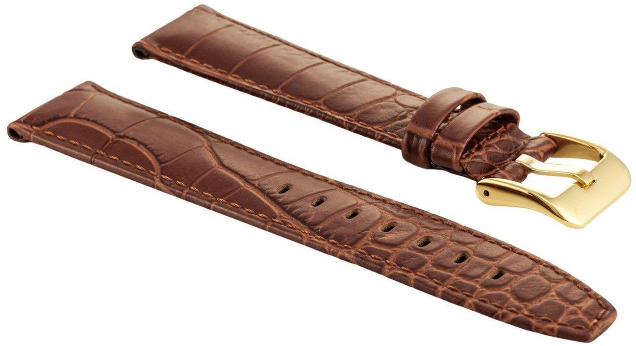 Skórzany pasek do zegarka Bisset 20 mm BS-161.20.18.G