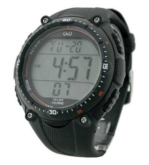 Zegarek Q&Q M010-001 Lap Memory 150
