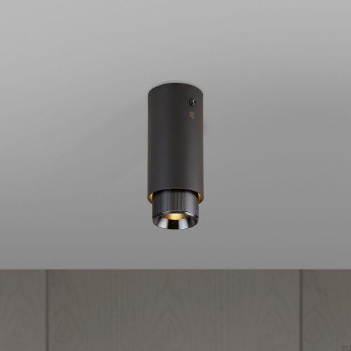 Lampa Exhaust Surface Grafitowa z gun metal