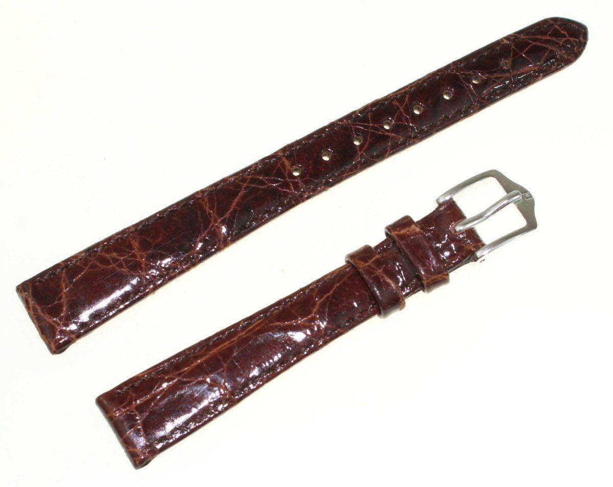 Pasek ze skóry krokodyla 13 mm HIRSCH Prestige 18800810-1-13
