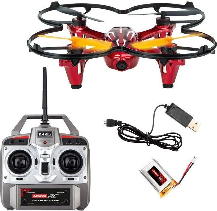 Carrera RC - Quadrocopter RC Video One 2,4GHz 503016