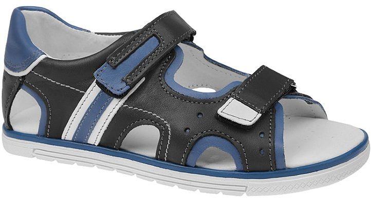 Sandałki dla chłopca KORNECKI 3747 Grafitowe Sandały - Grafitowy