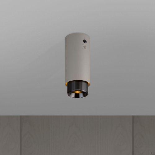 Lampa Exhaust Surface Szara z gun metal