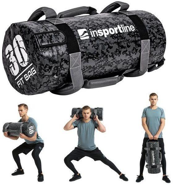 Sandbag do ćwiczeń worek Fitbag Camu 30 kg Insportline
