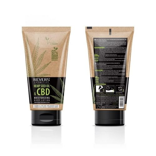 Balsam do ciała z olejem konopnym z CBD Revers Cosmetics 150ml