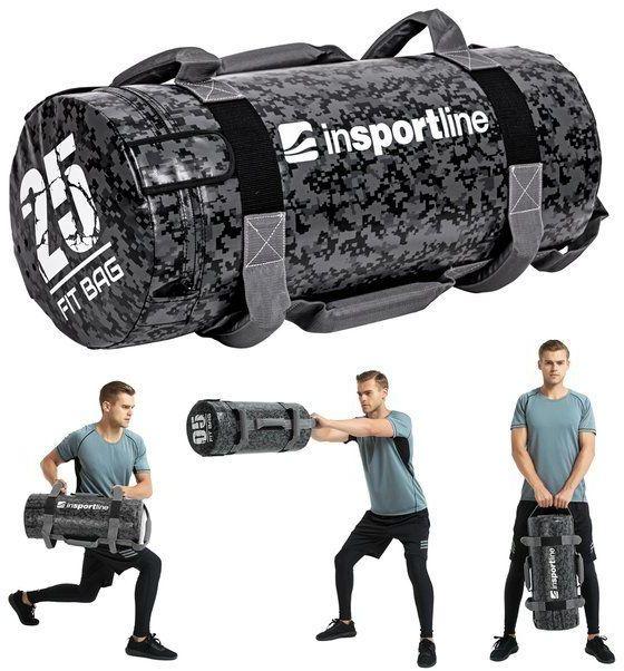 Sandbag do ćwiczeń worek Fitbag Camu 25 kg Insportline