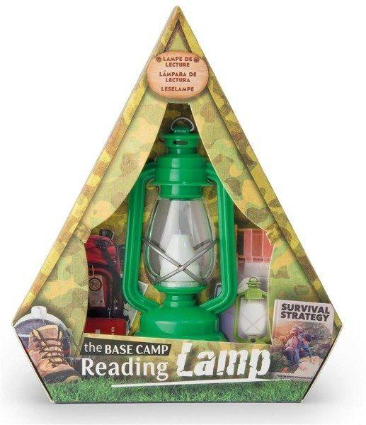 Lampka do czytania zielona