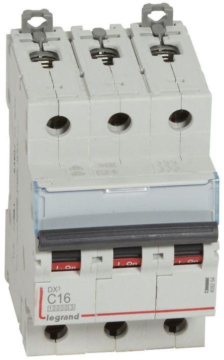 Wyłącznik nadprądowy 3P C 16A 10kA S313 DX3 409254