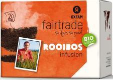 Herbata rooibos infusion fair trade BIO (20 x 1,8g) 36g Oxfam