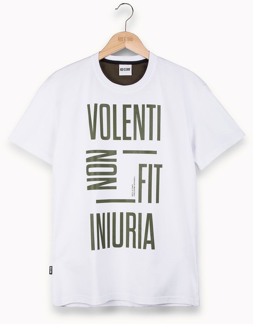 RED IS BAD koszulka Volenti Non Fit Iniuria v.4