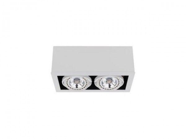 Oprawa natynkowa Box 2 punktowa regulowana ES111 biała 9472 - Nowodvorski // Rabaty w koszyku i darmowa dostawa od 299zł !