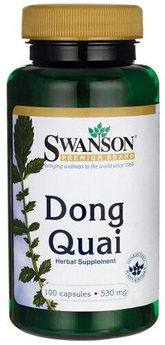 Dzięgiel Chiński Swanson Dong Quai 100 kaps. KOBIECE LIBIDO 015330
