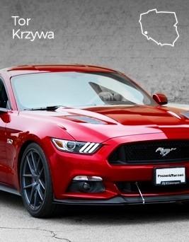 Jazda za kierownicą Forda Mustanga  Tor Wrocław-Krzywa