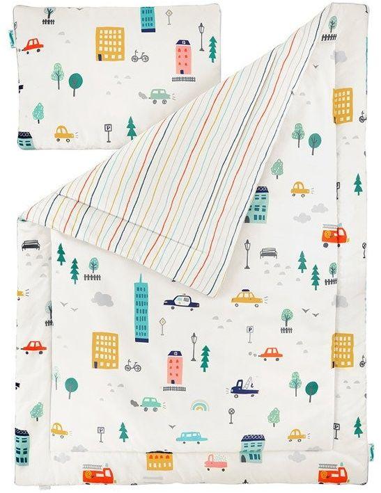 Pościel dziecięca 100x135 city transport
