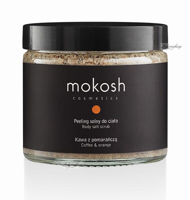 MOKOSH - BODY SALT SCRUB - COFFEE & ORANGE - Peeling solny do ciała - Kawa z pomarańczą - 300 g