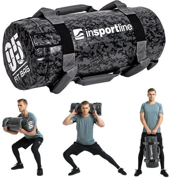 Sandbag do ćwiczeń worek Fitbag Camu 5 kg Insportline