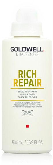 Goldwell Dualsenses Rich Repair 60 sec Treatment Maska do włosów zniszczonych i suchych 60 sekundowa 500 ml