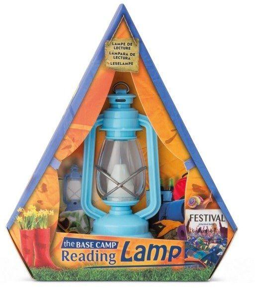 Lampka do czytania niebieska