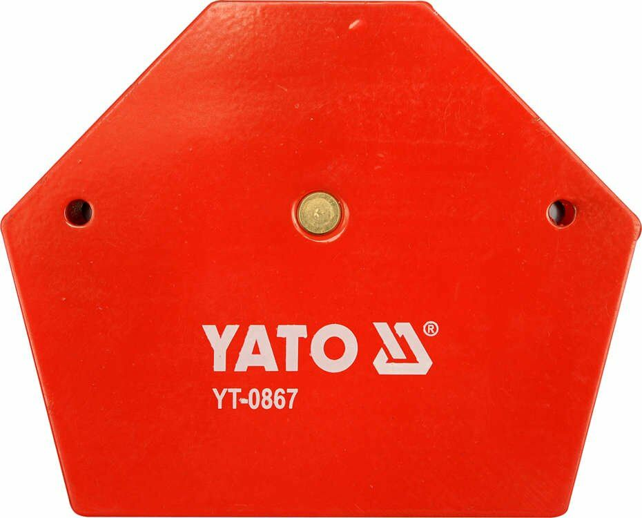 Spawalniczy kątownik magnetyczny 111x136x24 mm Yato YT-0867 - ZYSKAJ RABAT 30 ZŁ