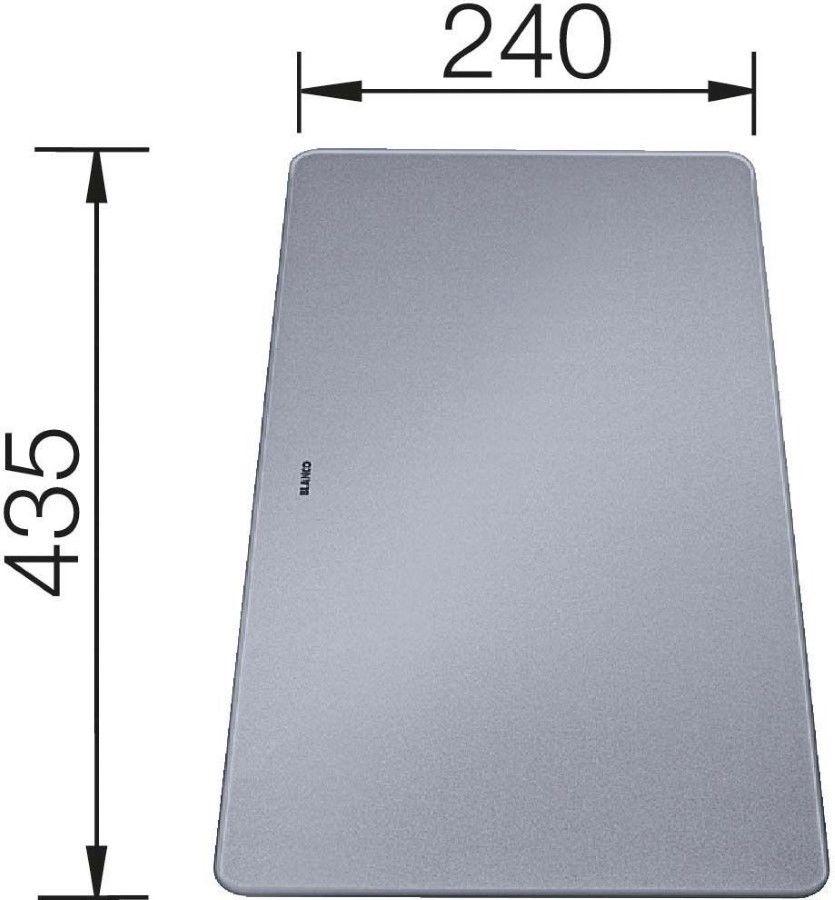 Deska do krojenia do Mevit XL 6S lub Subline Blanco 240x435mm