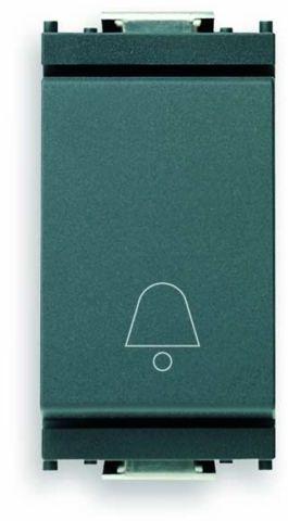 Przycisk 1P NO 10 A symbol dzwonka