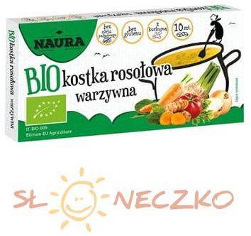 Kostka rosołowa warzywna BIO 100 g Naura